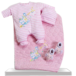 Her First Official Outfit Gift Set for Girl