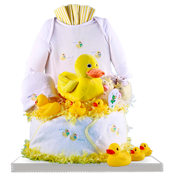 Looking for Plush Ducky Diaper Cake Baby Gift Set