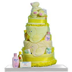 Looking for Baby Shower Duck Diaper Cake Gift Basket