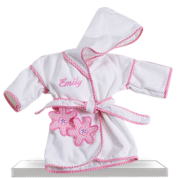 Personalized Daisy Robe Baby Gift