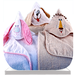 Animal Planet Hooded Baby Towel Gift Set
