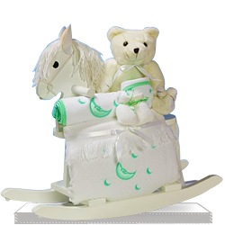Looking for Rocking Horse Baby Shower Gift Set