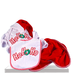 Christmas HO, HO, HO 4 Piece Gift Set for Baby