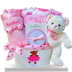 Looking for Bears and Ballerinas Gift Basket