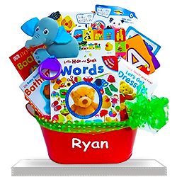 Tiny Tot's Touch and Learn Basket