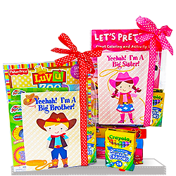 Big Sister or Big Brother Giddy Up Sibling Gift