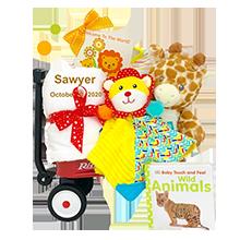 Jungle Joy for Boys and Girls Radio Flyer Wagon Gift Wagon
