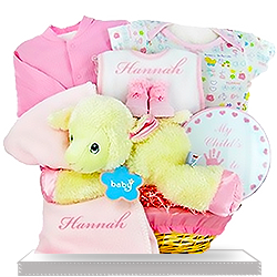 Love My Lambkins Pink Plush Lamb Gift for Girls