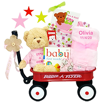 The All-Girl Welcome Personalized Basket Wagon