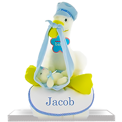 Blue Stork Express DIaper Cake for Boys
