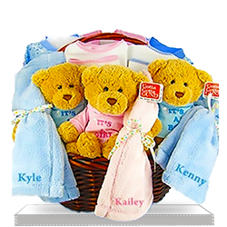 Order Blessing Multi Birthday Personalized Gift Basket