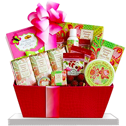 Flower Spa Gift Basket of Joy for Mom