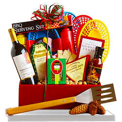 Barbecue Picnic Gift Set for Dad Gift Basket