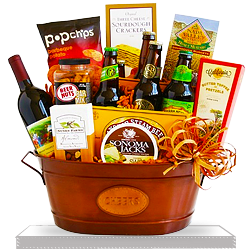 Creative California Barbecue Party Gift Basket