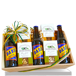 Send Crazy About You Gift with Nuts Gift Basket