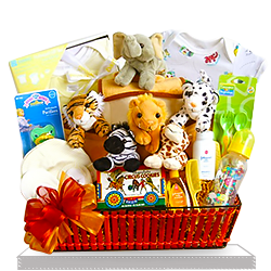 The Big Top Noah's Ark Baby Gift Basket