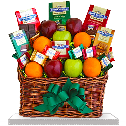 Ghirardelli & Fruit Ultimate Gift Basket