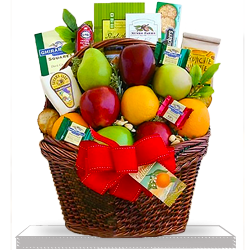 Perfect Fruitful Greetings Gift Basket