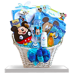 Make it Mickey Mouse Gift Basket