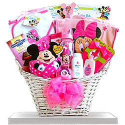 Make it Minnie Mouse Gift Basket