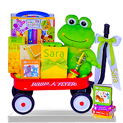 Let's Read Baby Einstein Wagon Gift Basket