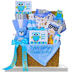 Looking for An Adorable Owl Gift Trunk for Boys