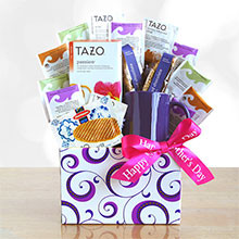 Perfect It's Tea Time for Mom Gift Basket
