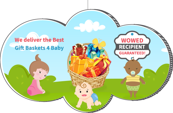 We deliver the Best Gift Baskets for Baby