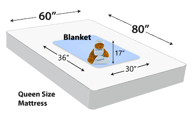 Personalized Blanket Dimensions (30x36)